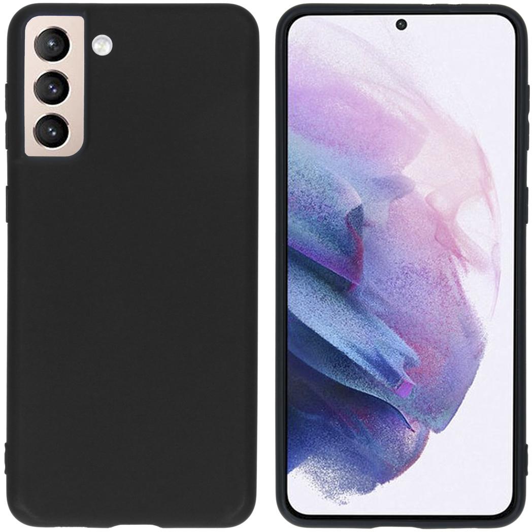 iMoshion Coque Color Samsung Galaxy S21 Plus - Noir