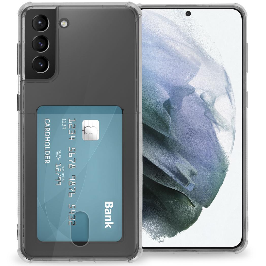 iMoshion Coque silicone avec support de passe Galaxy S21 Plus