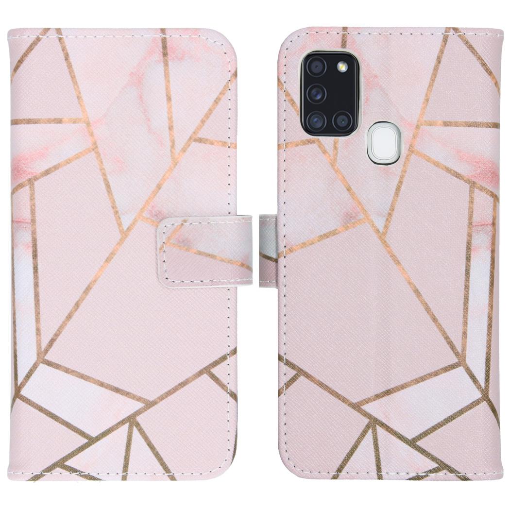 iMoshion Coque silicone design Samsung Galaxy A21s - Pink Graphic