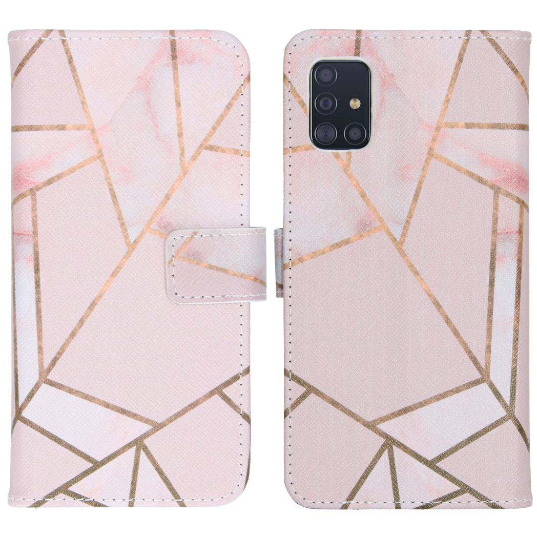 iMoshion Coque silicone design Samsung Galaxy A51 - Pink Graphic