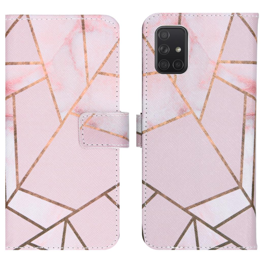 iMoshion Coque silicone design Samsung Galaxy A71 - Pink Graphic