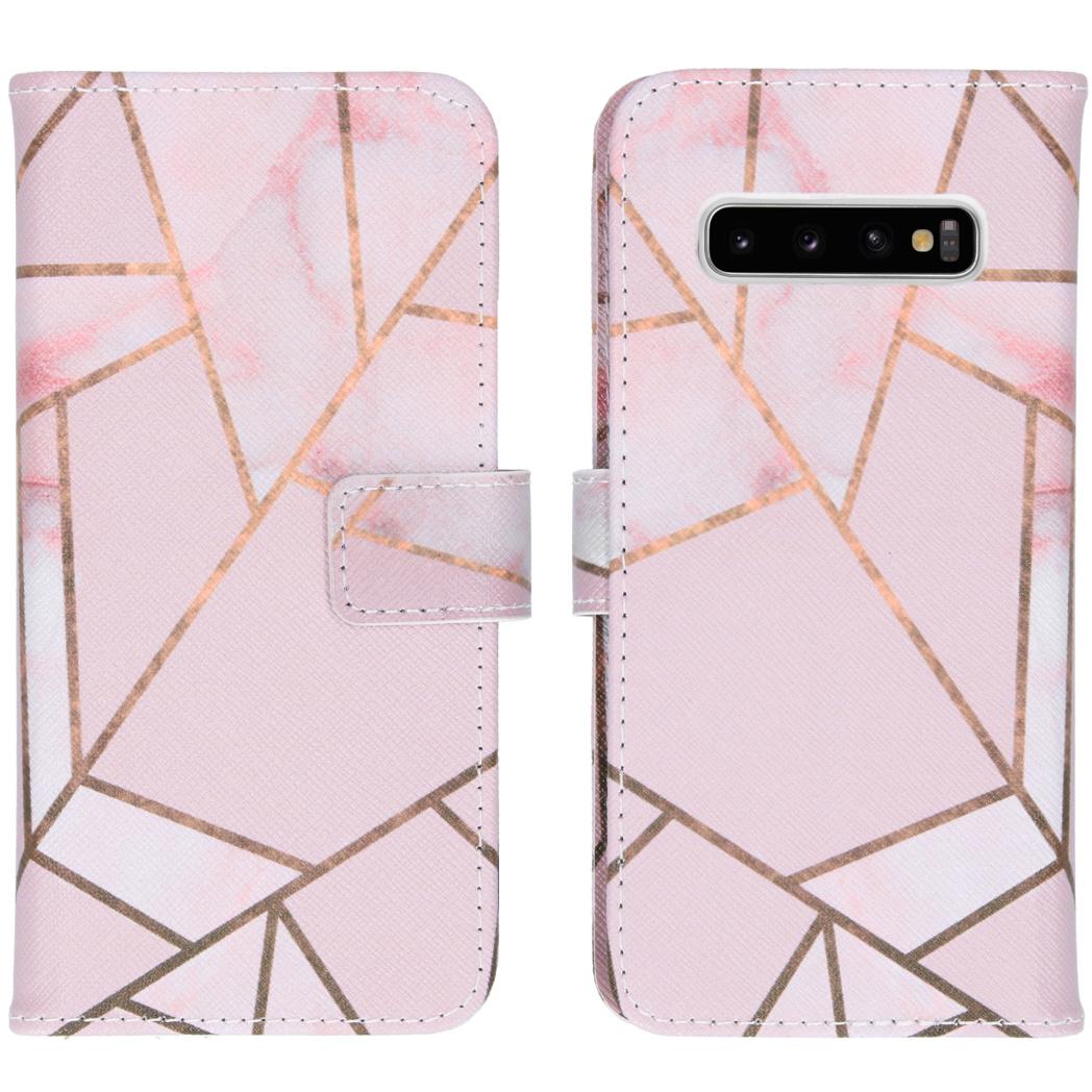 iMoshion Coque silicone design Samsung Galaxy S10 - Pink Graphic