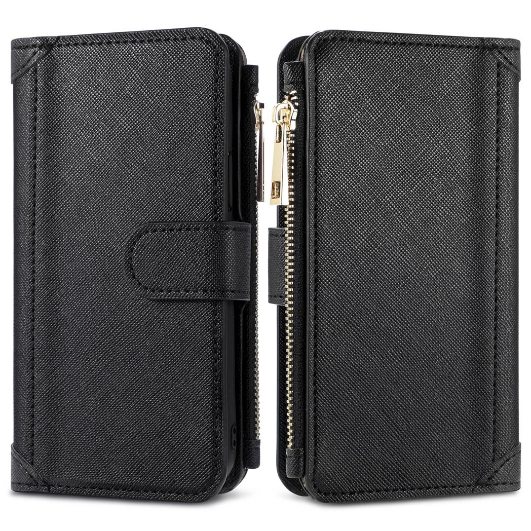 iMoshion Porte-monnaie de luxe Samsung Galaxy S21 - Noir