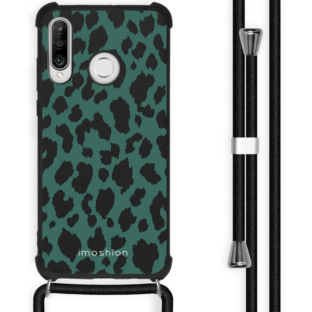 iMoshion Coque Design avec cordon Huawei P30 Lite - Léopard