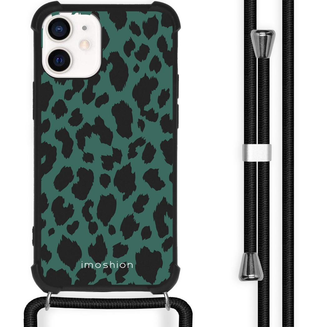 iMoshion Coque Design avec cordon iPhone 12 Mini - Léopard