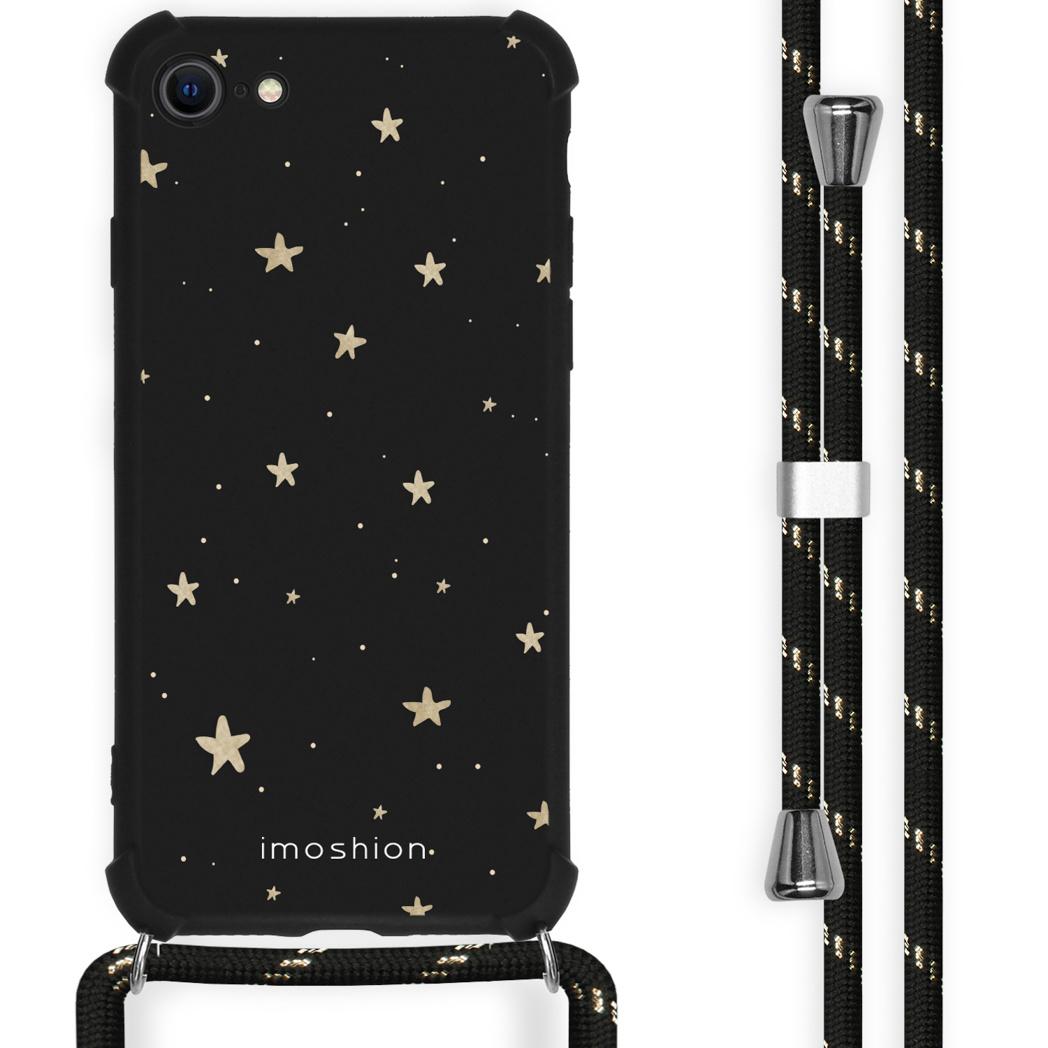 iMoshion Coque Design avec cordon iPhone SE (2020) / 8 / 7 - Etoiles