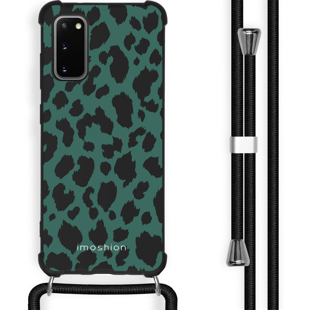 iMoshion Coque Design avec cordon Samsung Galaxy S20 Plus - Léopard