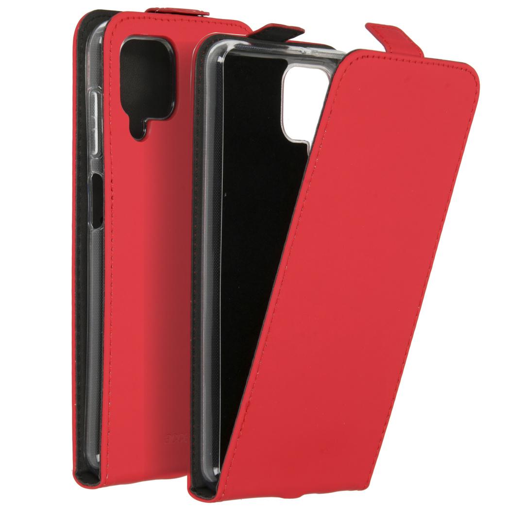 Accezz Étui à rabat Samsung Galaxy A12 - Rouge