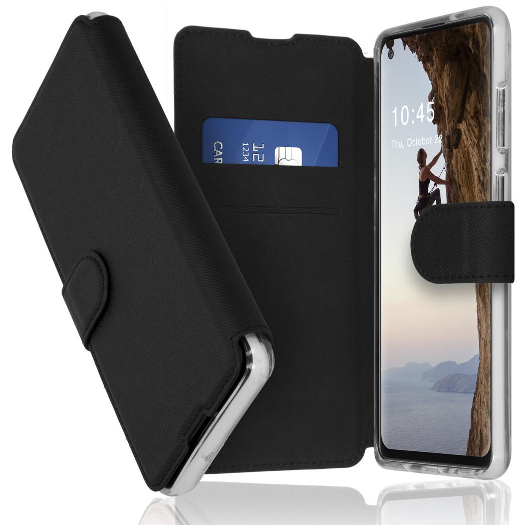 Accezz Étui de téléphone Xtreme Wallet Samsung Galaxy A21s - Noir
