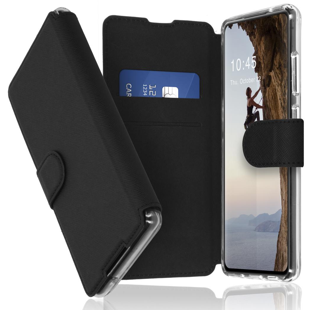 Accezz Étui de téléphone Xtreme Wallet Samsung Galaxy S21 - Noir