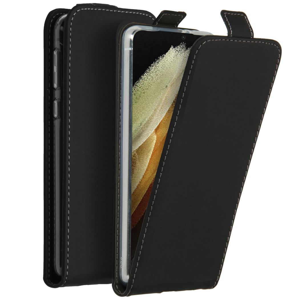 Accezz Étui à rabat Samsung Galaxy S21 Ultra - Noir