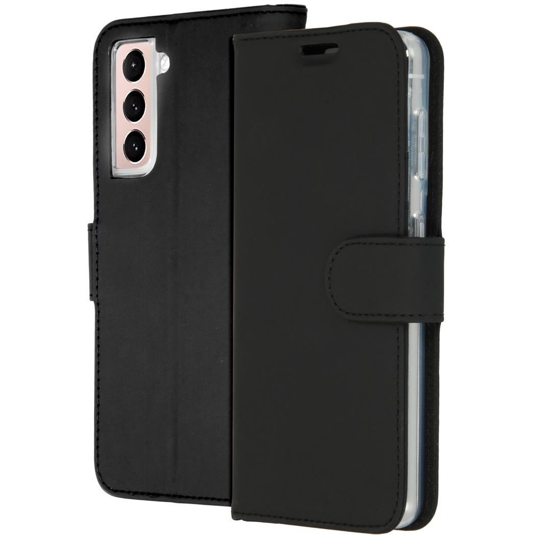 Accezz Étui de téléphone Wallet Samsung Galaxy S21 - Noir