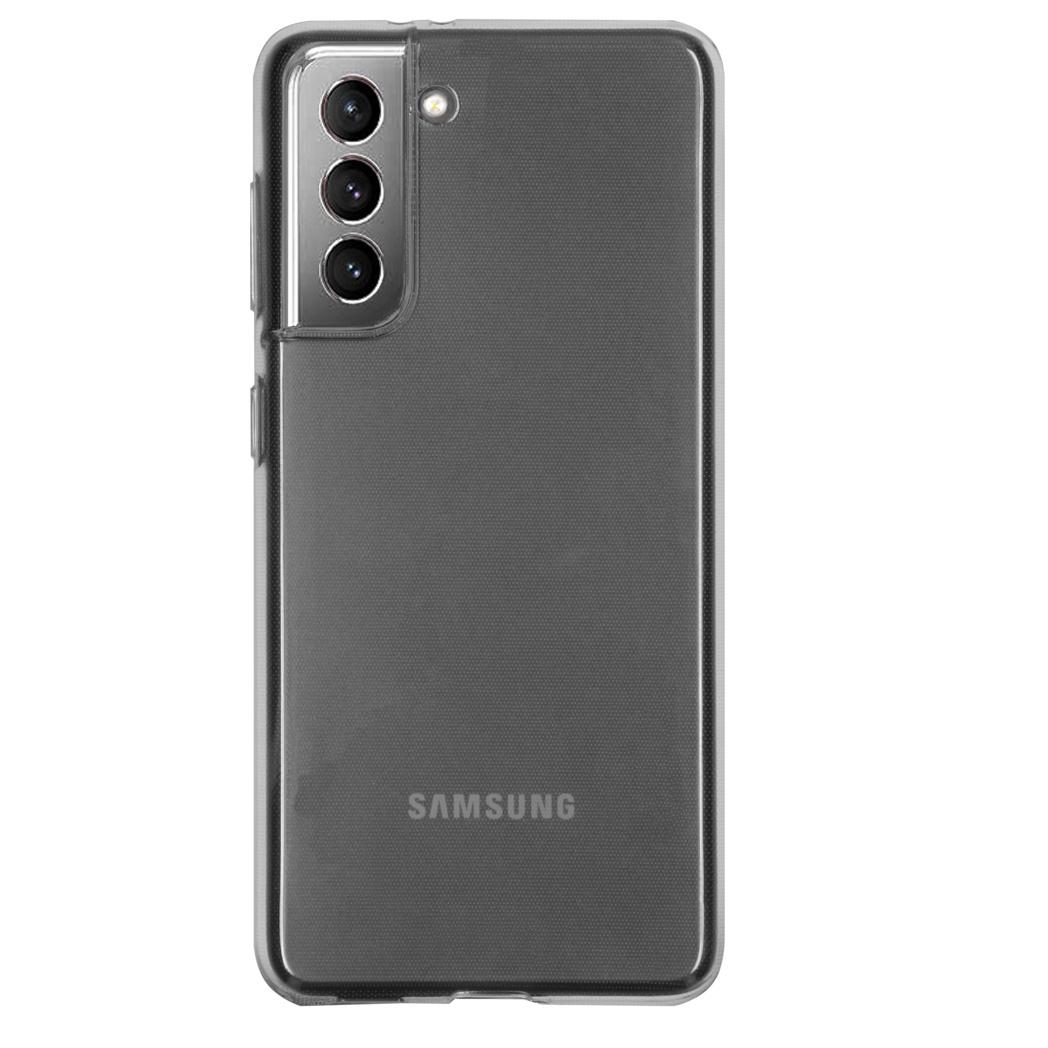 iMoshion Coque silicone Samsung Galaxy S21 - Transparent