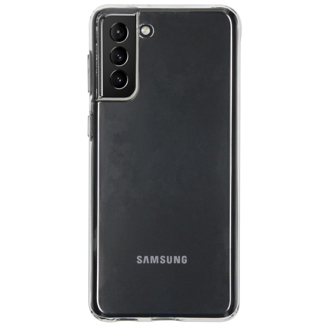 iMoshion Coque silicone Samsung Galaxy S21 Plus - Transparent