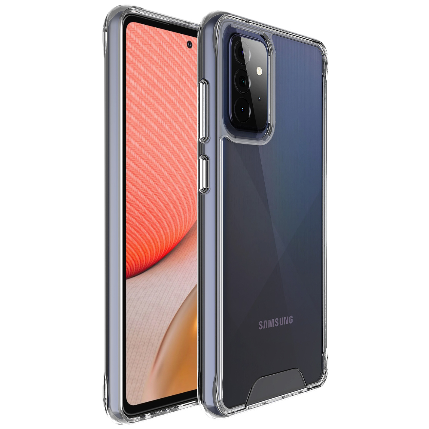 Accezz Coque Xtreme Impact Samsung Galaxy A72 - Transparent