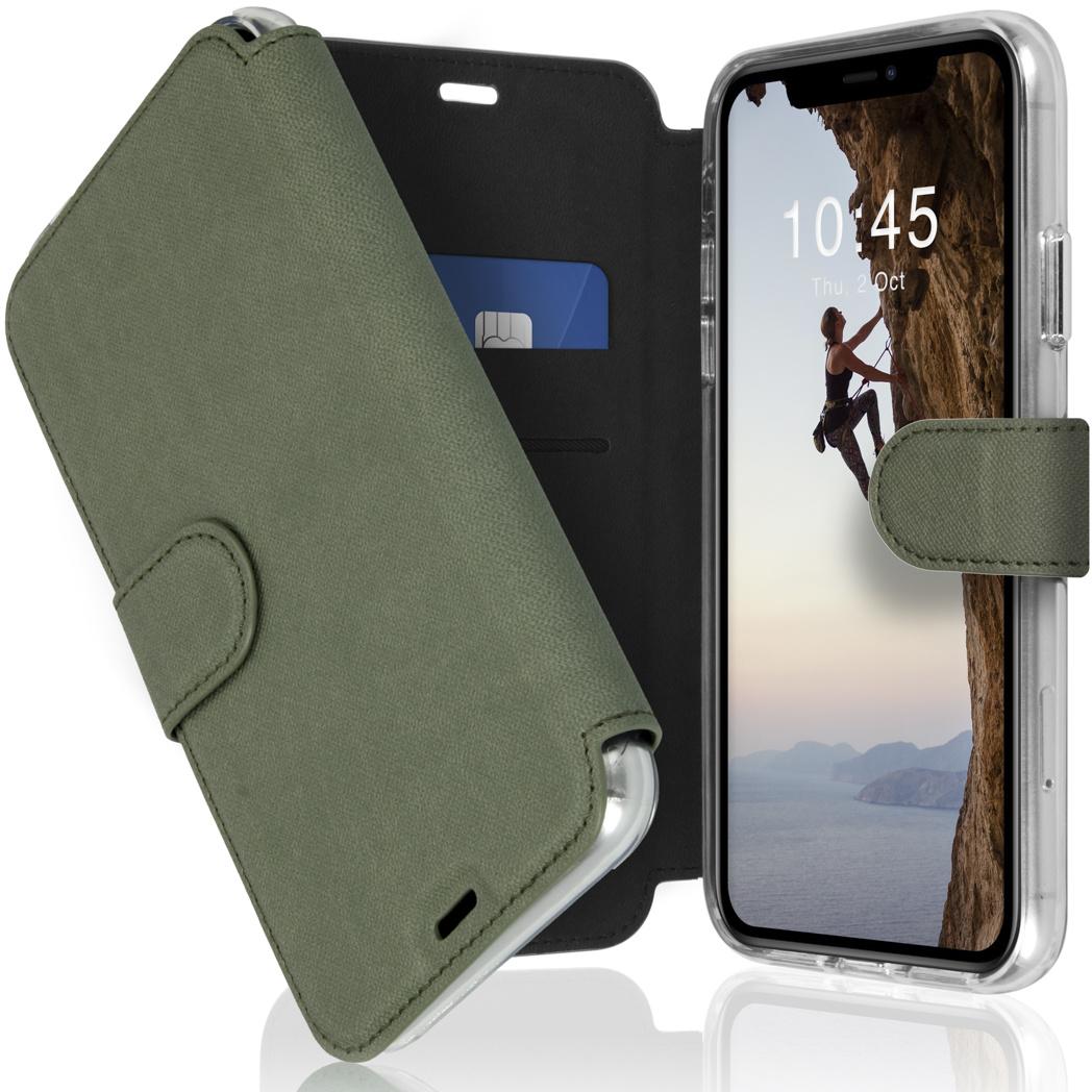 Accezz Étui de téléphone Xtreme Wallet iPhone 11 - Vert clair