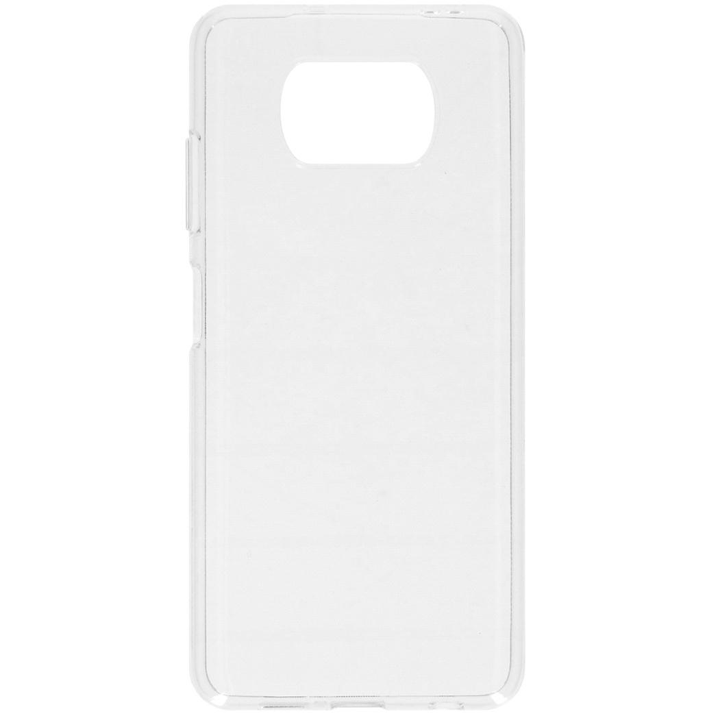 iMoshion Coque silicone Xiaomi Poco X3 - Transparent
