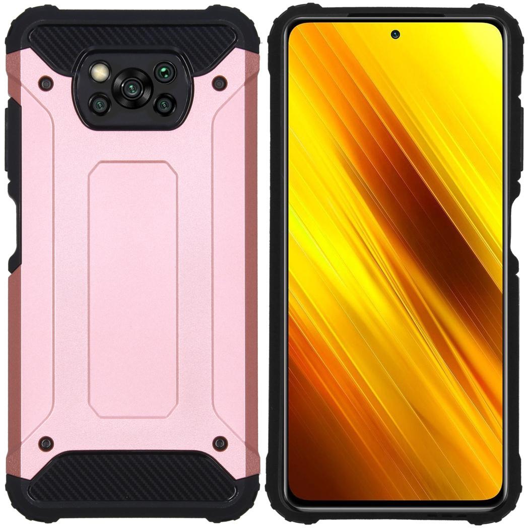 iMoshion Coque Rugged Xtreme Xiaomi Poco X3 - Rosé Champagne