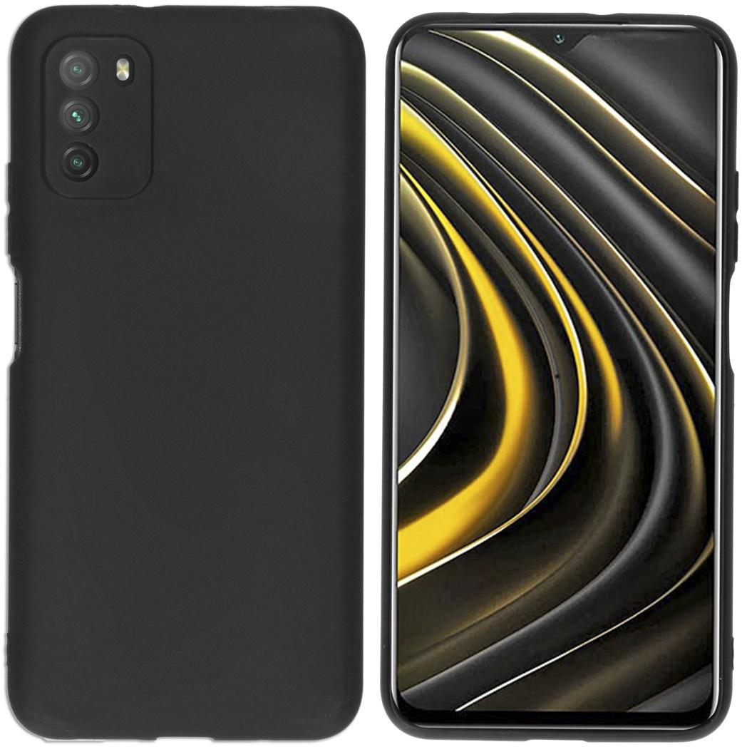 iMoshion Coque Color Xiaomi Poco M3 - Noir