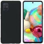 iMoshion Coque Color Samsung Galaxy A71 - Noir
