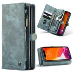 CaseMe Etui de téléphone de luxe en cuir deux en un iPhone 12 Mini
