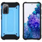 iMoshion Coque Rugged Xtreme Samsung Galaxy S20 FE - Bleu clair