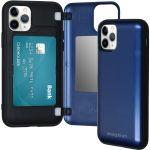 iMoshion Coque avec support de passe iPhone 11 Pro - Bleu foncé
