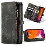 CaseMe Etui de téléphone de luxe en cuir deux iPhone 12 Pro Max