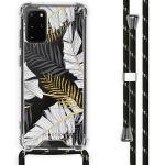 iMoshion Coque Design avec cordon Samsung Galaxy S20 Plus - Feuilles