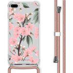 iMoshion Coque Design avec cordon iPhone 8 Plus / 7 Plus - Fleur