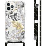 iMoshion Coque Design avec cordon iPhone 12 (Pro) - Feuilles