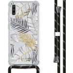 iMoshion Coque Design avec cordon Samsung Galaxy A70 - Feuilles