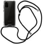 iMoshion Coque avec cordon Samsung Galaxy S20 Plus - Noir