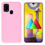 iMoshion Coque Color Samsung Galaxy M31 - Rose
