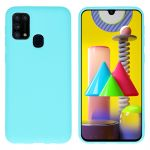 iMoshion Coque Color Samsung Galaxy M31 - Turquoise