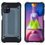 iMoshion Coque Rugged Xtreme Samsung Galaxy M51 - Bleu foncé