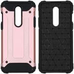 iMoshion Coque Rugged Xtreme OnePlus 8 - Rose Champagne