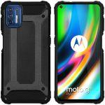 iMoshion Coque Rugged Xtreme Motorola Moto G9 Plus - Noir