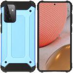 iMoshion Coque Rugged Xtreme Samsung Galaxy A72 - Bleu clair