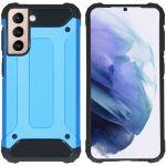 iMoshion Coque Rugged Xtreme Samsung Galaxy S21 - Bleu clair