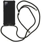 iMoshion Coque Color avec cordon Samsung Galaxy S20 FE - Noir