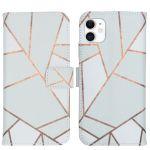iMoshion Coque silicone design iPhone 11 - White Graphic