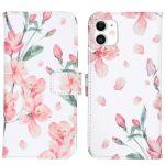 iMoshion Coque silicone design iPhone 11 - Blossom Watercolor White