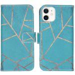 iMoshion Coque silicone design iPhone 12 Mini - Blue Graphic