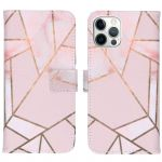 iMoshion Coque silicone design iPhone 12 (Pro) - Pink Graphic