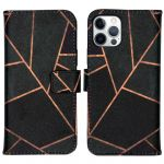 iMoshion Coque silicone design iPhone 12 (Pro) - Black Graphic