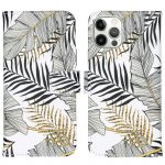 iMoshion Coque silicone design iPhone 12 (Pro) - Glamour Botanic