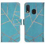iMoshion Coque silicone design Samsung Galaxy A20e - Blue Graphic