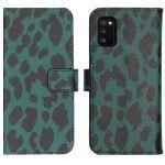 iMoshion Coque silicone design Samsung Galaxy A41 - Green Leopard