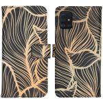 iMoshion Coque silicone design Samsung Galaxy A51 - Golden Leaves